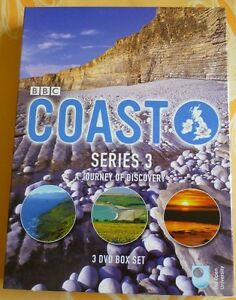 Coast-Series-3-A-Journey-Of-Discovery-Complete-DVD-2007-3-Disc-Set-Box