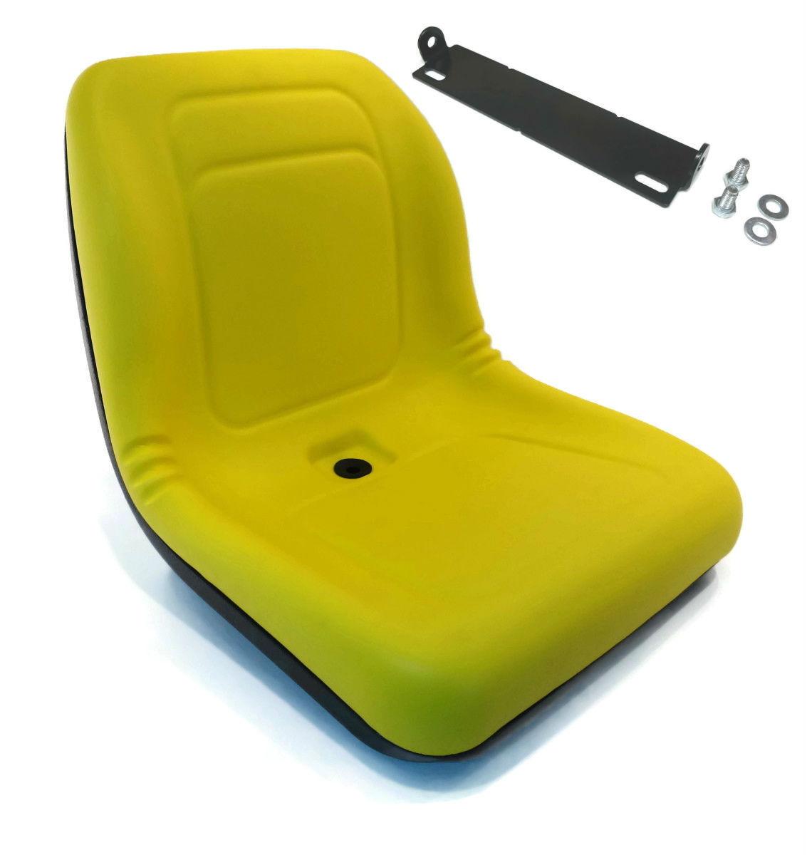 Nuevo Amarillo alto asiento trasero con Soporte de Barra de pivote para John Deere 655 755 756 855
