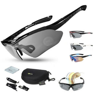 d8e7607373a Image is loading RockBros-Polarized-Cycling-Sunglasses-Outdoor-Sports- Goggles-Glasses-