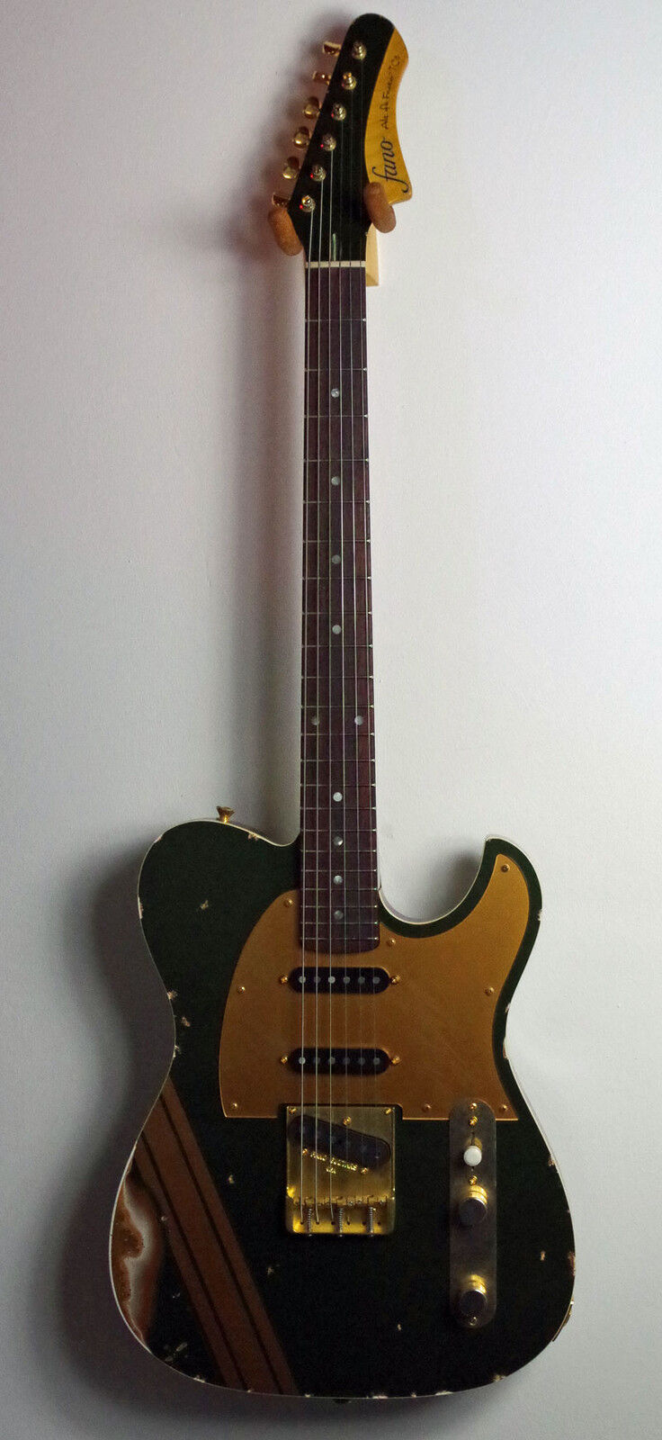 Fano Alt de Facto TC6 - Cadillac Grün over Gold