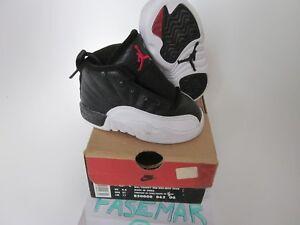C Rare Jordan originale Air cass Vintage Enfant Blanc Nike 5 de Sz Lebron Jetter 12 t1wxE077