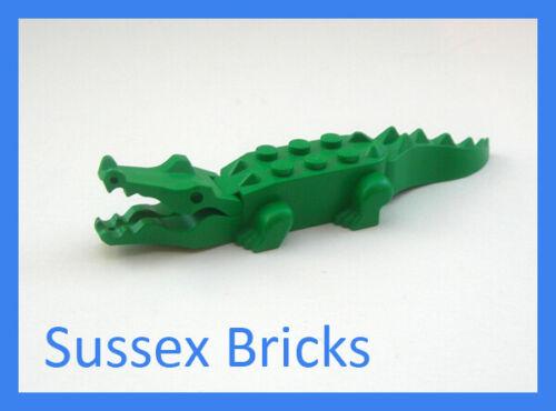 VGC Green Crocodile Alligator City Castle Pirates Sea Water Lego Animal