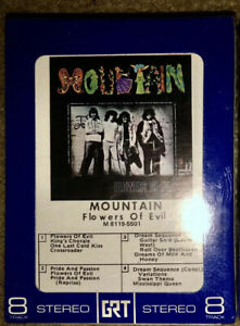 NEW-SEALED-MOUNTAIN-8-TRACK-TAPE-FLOWERS-OF-EVIL-UNOPENED-LOOK