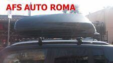 BOX AUTO PORTAOGGETTI G3 HELIOS 480+BARRE ALLUMINIO RENEGADE CON CHIAVE ANTIFURT