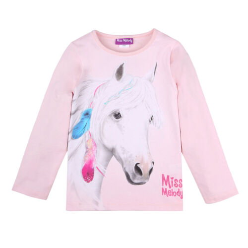 Neuf Miss Melody Shirt Fille Camouflage perdeshirt Rose 116 128 140 152 84082