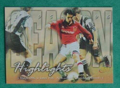 1997 Camiseta Futera-Highlights-Manchester United no 69