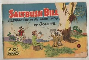 SALTBUSH-BILL-No-16-VG-CONDITION-1950s-ORIGINAL-AUST-COMIC