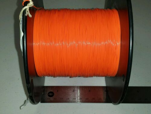 1000 FT Spool M16878//4BEE3 24Awg Orange SPC Cable Wire 19//36 600V