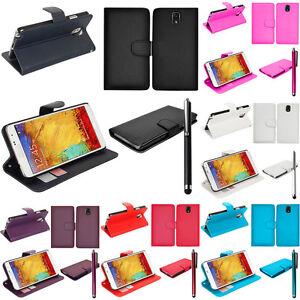 funda-protectora-para-Samsung-Galaxy-Note-3-N9000-N9002-Movil-Cartera-Con-Tapa