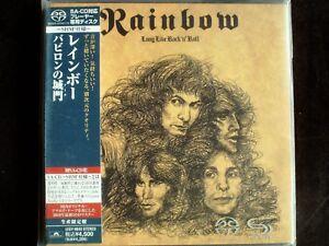 Rainbow-Long-Live-Rock-039-N-039-Roll-Japan-Mini-LP-OBI-SACD-New-UIGY-9040