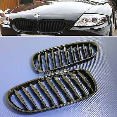 2003-08 BMW E85 Roadster E86 Coupe Z4 cabriolet Front Grille Grill Gloss Black
