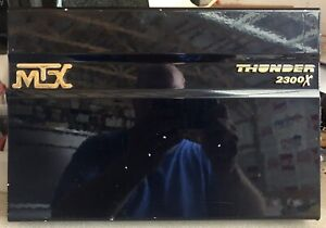 Old-School-MTX-Thunder-2300X-2-channel-amplifier-Rare-Amp-USA-vintage