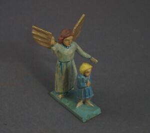 Grulicher-Krippenfigur-Verkuendigungsengel-mit-Kind-gt-7-cm-lt-11483