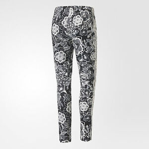 41de6c79280aab Adidas FLORIDO SUPEPSTAR TRACK PANTS Floral yoga Gym firebird Sweats ...