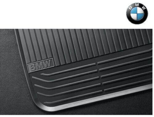 ORIGINALE BMW 5er Allwetter Tappetini Anteriori f10 f11 TAPPETINI NERO 51472153725