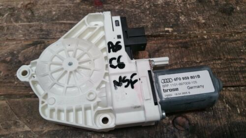 1 of 1 - AUDI A6 C6 4F 2005-2011 FRONT LEFT PASSENGER SIDE WINDOW MOTOR 4F0959801B
