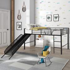 Princess Castle Loft Twin Bunk Bed Slide Kids Girls Furniture Storage Play Area For Sale Online Ebay