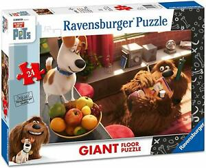 Ravensburger-05483-Secret-Life-Of-Pets-24-pieces-Puzzle-de-Sol-pour-Enfant