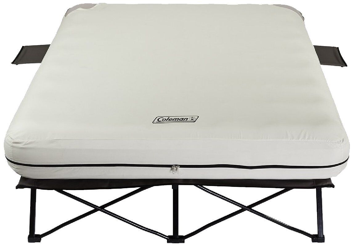 Coleman Portable Queen Airbed Folding  Cot Side Tables 4D Battery Pump Outdoors  buy brand