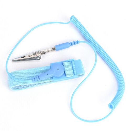 2PCS Anti-static ESD Adjustable Strap Antistatic Grounding Bracelet Wrist BanFBB