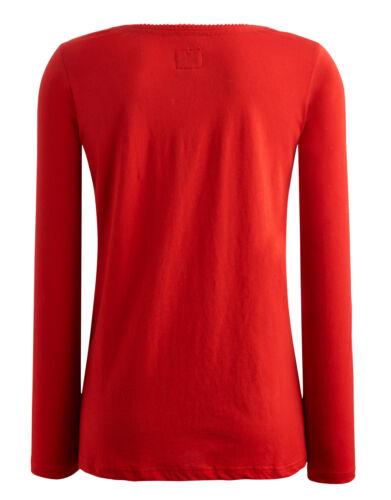 JOULES Shirt rot mit blauer Schleife Gr.34-44 NEU