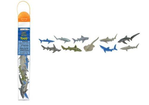 10 Minifiguren Safari Ltd 697104 Haie Shark Serie Themengebiet