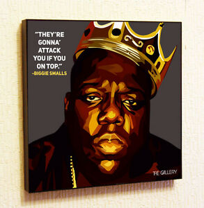 Image Is Loading Biggie Smalls Notorious B I G Painting Decor Print Wall