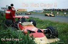 Jochen Rindt Gold Leaf Team Lotus 49B Dutch Grand Prix 1969 Photograph 1
