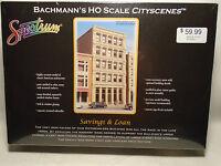 Bachmann Spectrum 88008 Ho Scale Cityscenes Saving & Loan In Box
