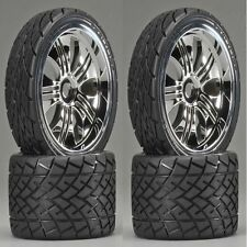 HPI 4731 Pre Mounted Phaltline Tires/Tremor Wheel (4) Revo Summit E-Revo