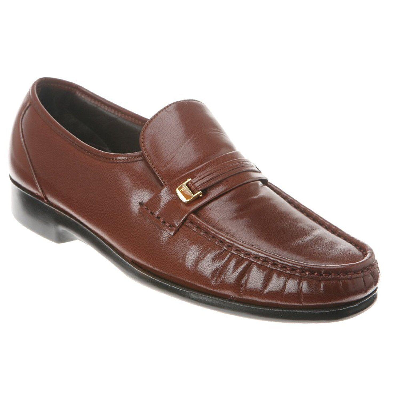 Homme Florsheim Riva Cuir Slip-on Cognac chaussures 17088-03