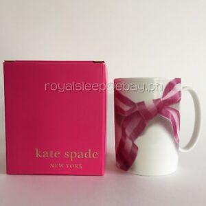 KATE-SPADE-039-Take-A-Bow-039-Lenox-Snap-Happy-Mug-Brand-New-with-Tag-Cup