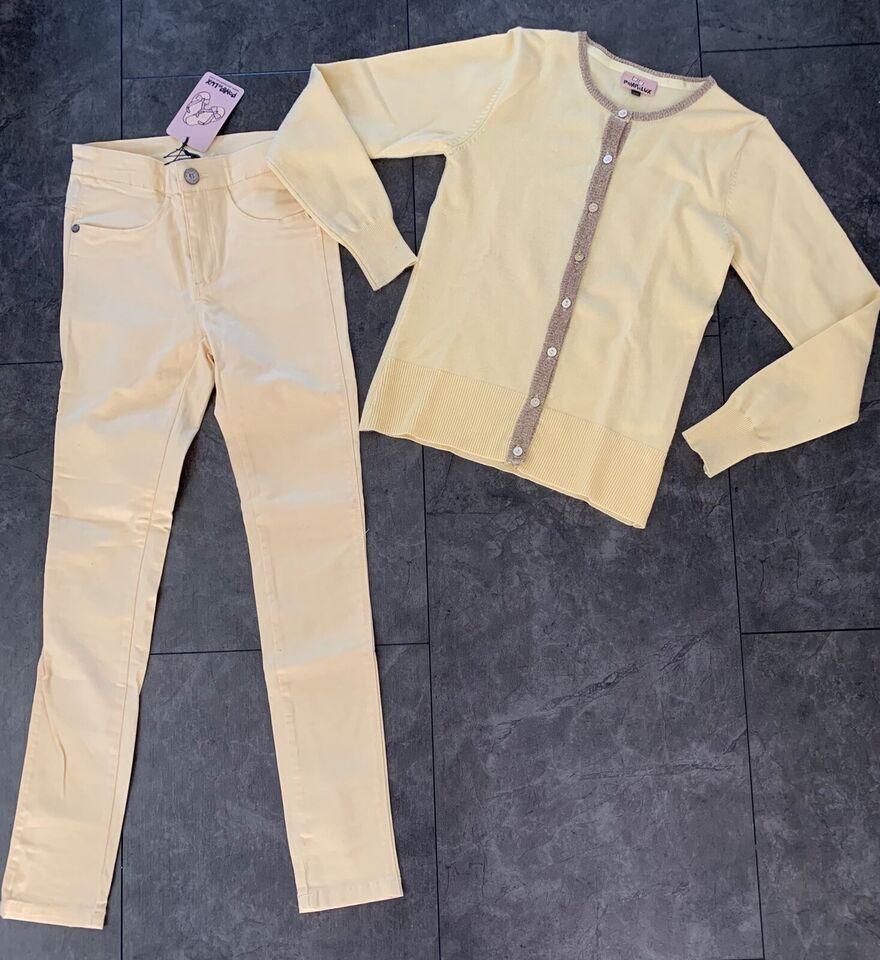 Blandet tøj, Nye bukser cardigan , Pompdelux