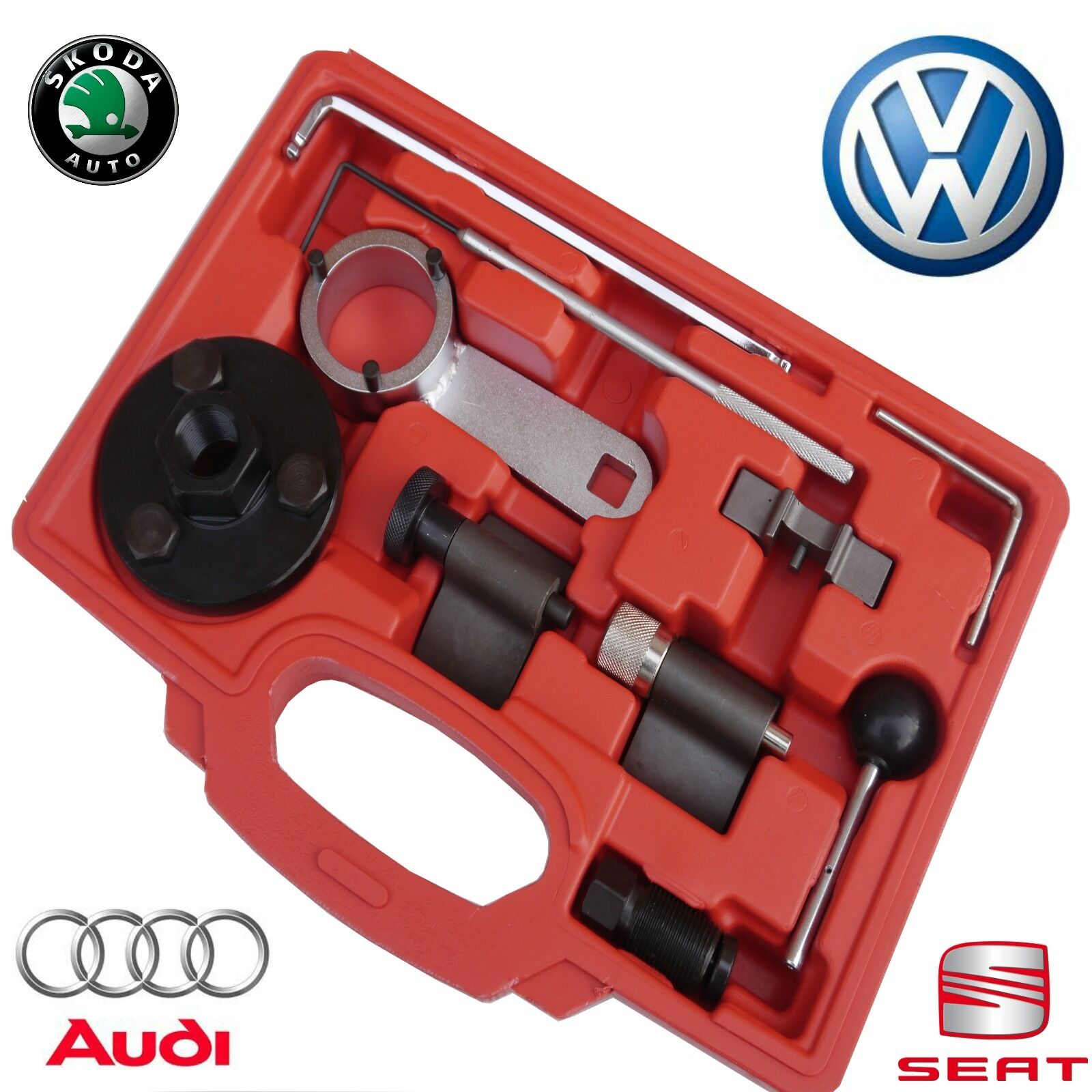 Vw 1600 Engine Removal: VW Golf Audi Timing Tool Set Kit VAG 1.6 2.0 TDi CR Blue