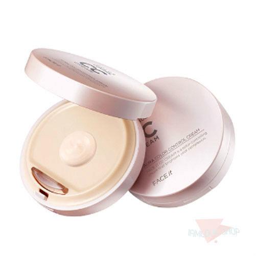 [The FACE Shop] Face it Aura CC (Color Control) Cream 20g #2 Natural Beige /BB