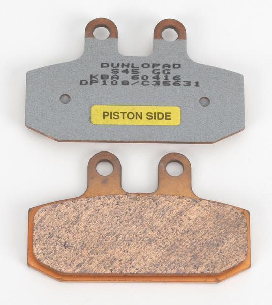 T Dunlopad DP 108 Quality Motorcycle Sintered Brake Pads FA256 BC39489