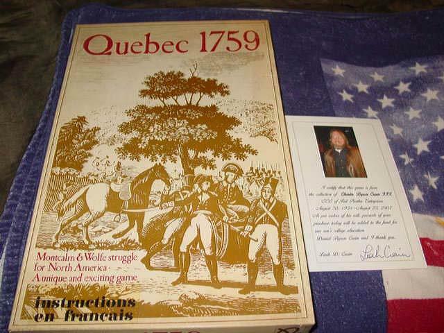 Gamma Two giocos - Quebec 1759 - 1st edizione  - Crain Collection (Dual-Language)  bellissima