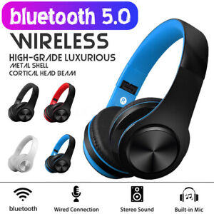 Wireless-bluetooth-Headphones-Foldable-Stereo-Earphones-Super-Bass-Headset-Mic