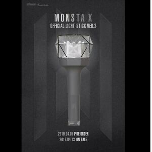MONSTA-X-OFFICIAL-LIGHT-STICK-VER-2-NEW-Free-Shipping