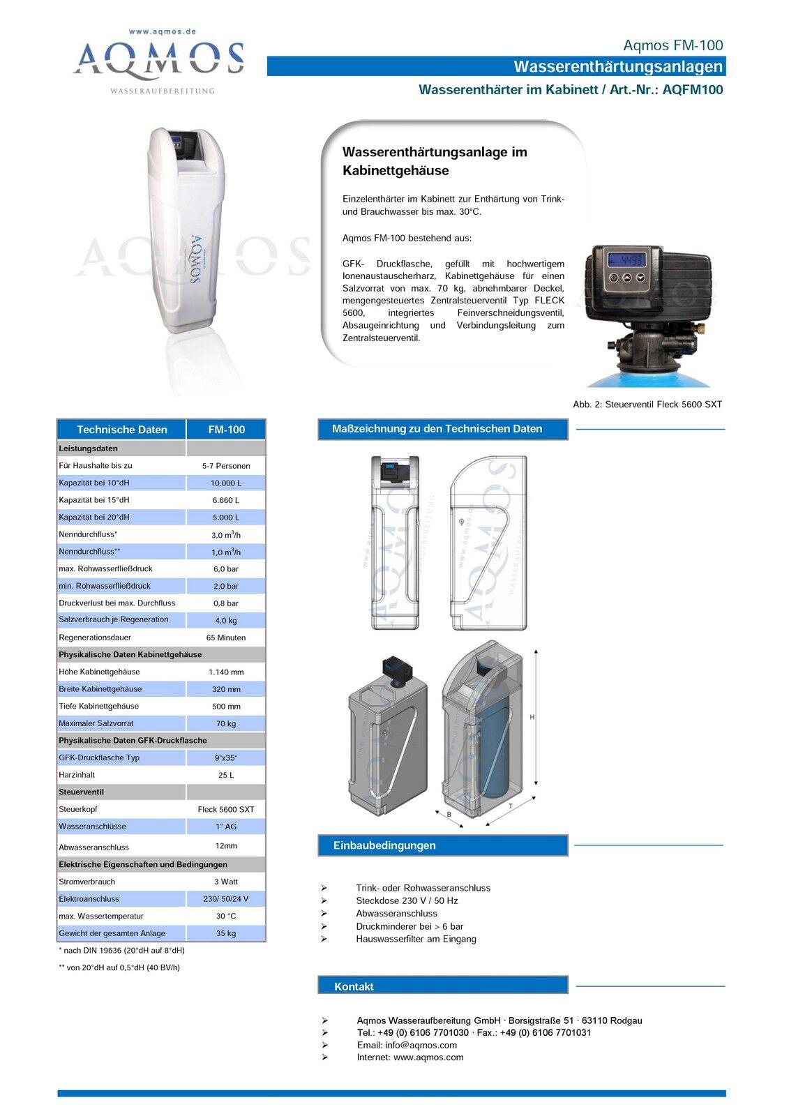 billiges UK Outlet Wasserenthärtungsanlage Enthärtungsanlage ...