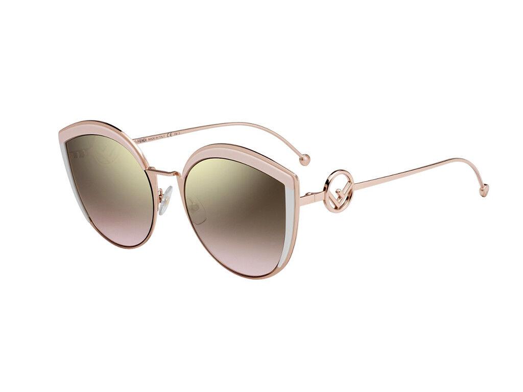 Sonnenbrille Fendi FF 0290 s-Metall s-Metall s-Metall Rosa braun gradient 35J 53  | Zu verkaufen  844153
