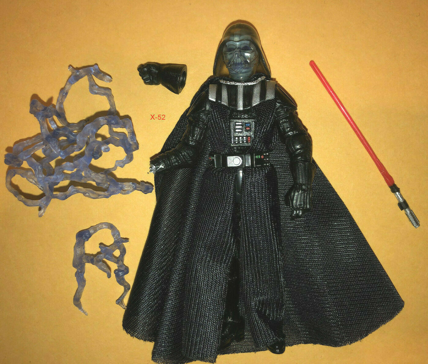 STAR WARS VINTAGE collection DARTH DARTH DARTH VADER toy FIGURE electric SKULL return o jedi 85a8b8