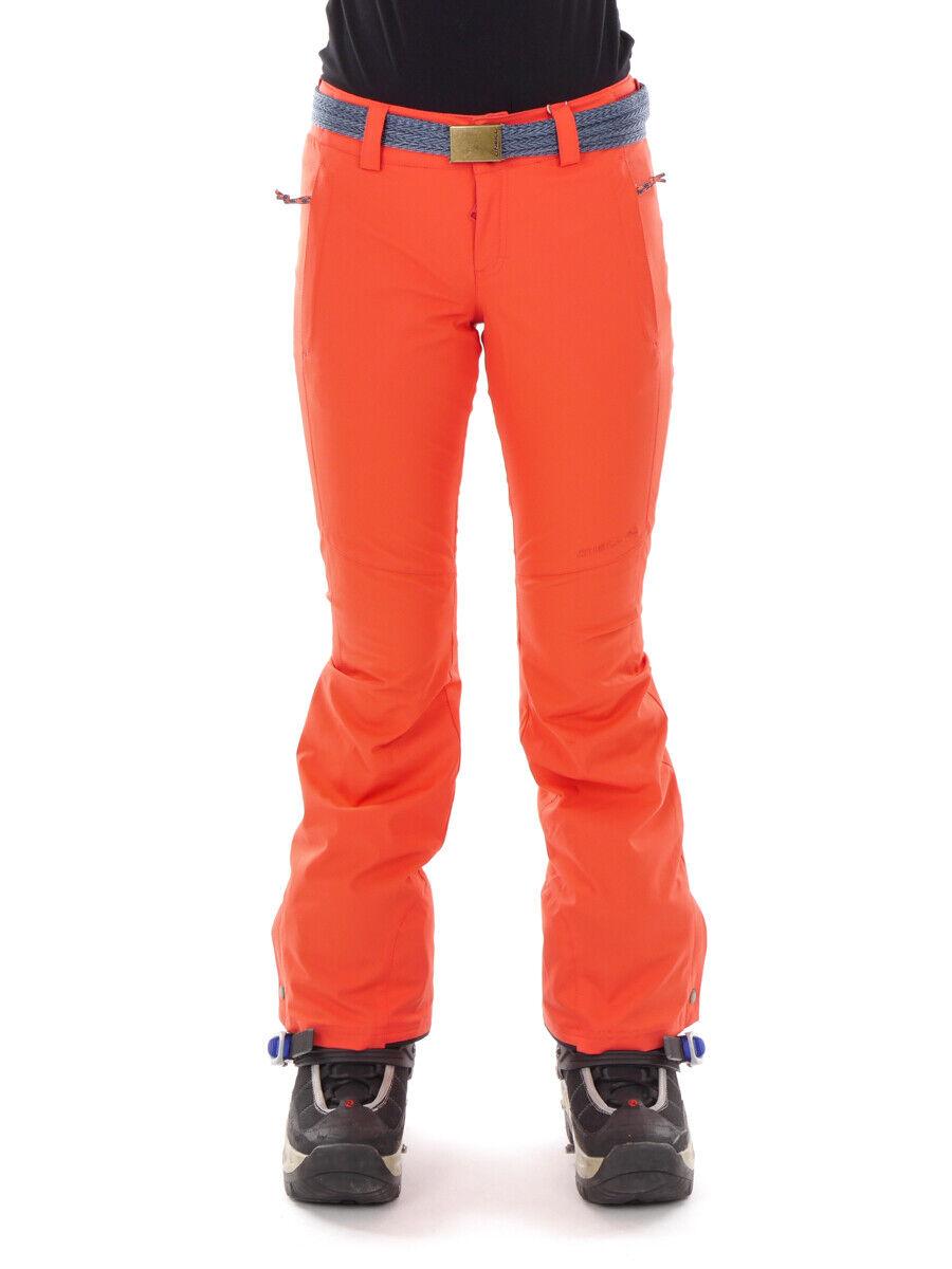 O'Neill Skihose Snowboardhose Star rot Skinny Fit 4-Way-Stretch Gürtel