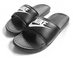 sports shoes 5ffab 923df Image is loading New-Men-039-s-Nike-Benassi-JDI-Slide-