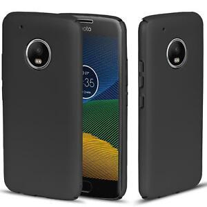 Motorola-Moto-Z-Play-Huelle-Tasche-Case-Cover-Handy-Backcover-Handyhuelle-Schwarz