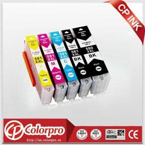 5PK-Cartouche-D-039-encre-Compatible-PGI-580-CLI-581-XXL-pour-Canon-Pixma-TR7550