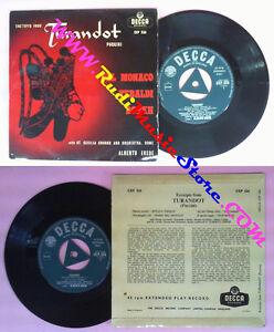 LP-45-7-039-039-DEL-MONACO-TEBALDI-BORKH-Turandot-PUCCINI-DECCA-526-no-cd-mc-dvd-vhs