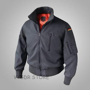 German-Air-Force-Flying-Leather-Jacket-For-Men-GAF-Active-Military-Cotton-Coat