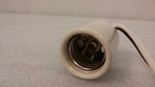 Lot of 10 Leviton 70046- Porcelain Light Sockets 4 KV 660W//600V