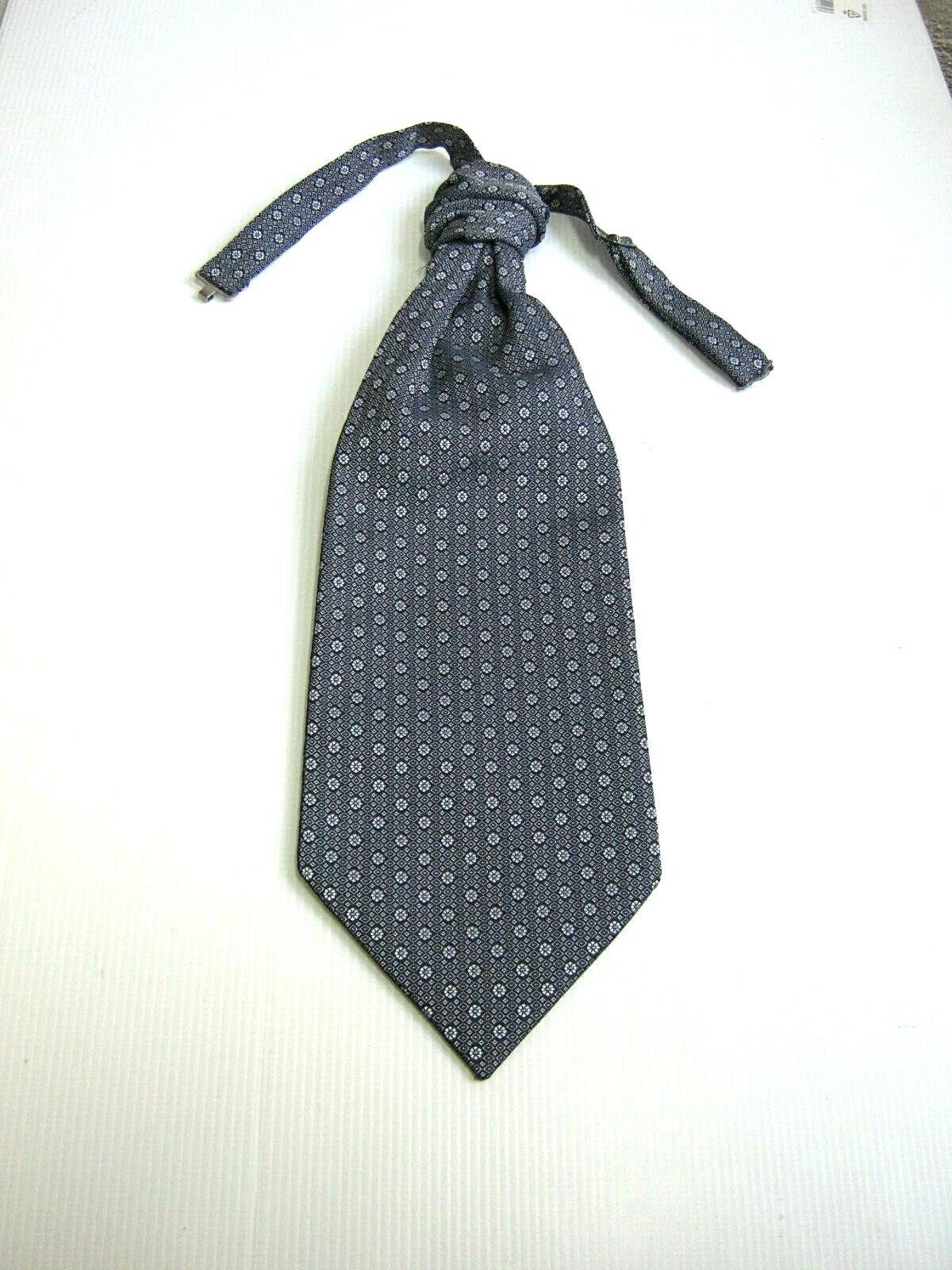 New Plastron Tie Ceremony Silk Made IN Italy